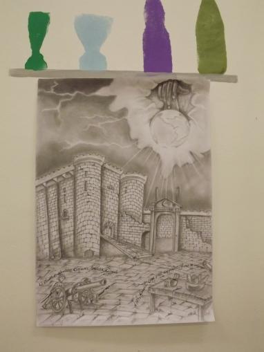 Disegno realizzato dagli studenti della classe IV C