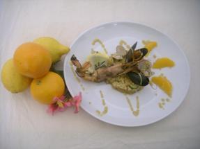 Risotto della classe III C: un'ondata di gusto tra mare ed agrumi